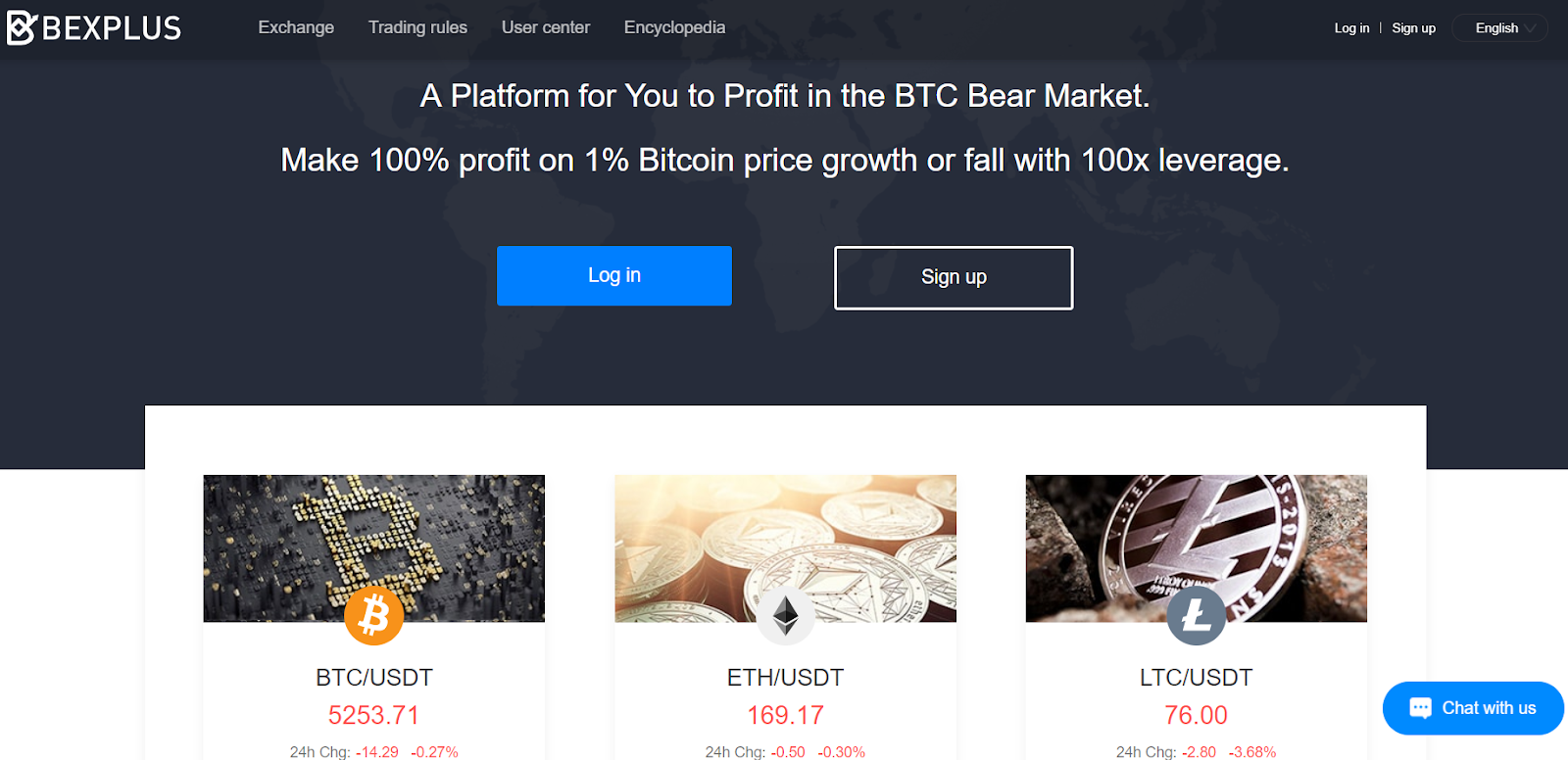 Bexplus Exchange Gives You 10 BTC to Try 100x Leverage BTC Margin Trading