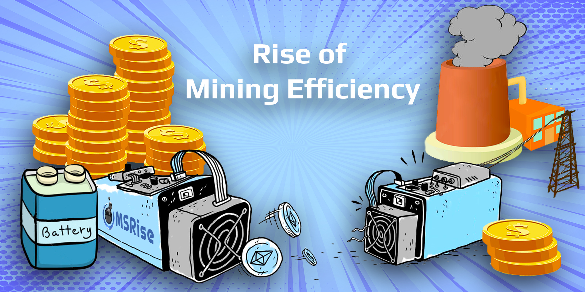 Rise of Mining Efficiency