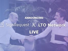 SignRequest introduces blockchain-backed electronic signatures with LTO Network