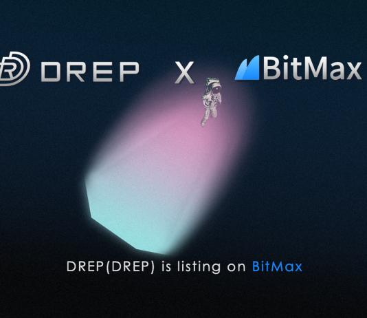 BitMax.io (BTMX.com) Takes DREP Project On Board for Strategic Listing Partnership