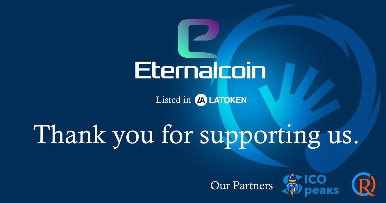Eternalcoin Initial Exchange Offering Now Live on Latoken