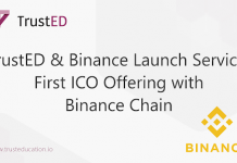 TrustED and Binance Launch First ICO Project on Binance Chain