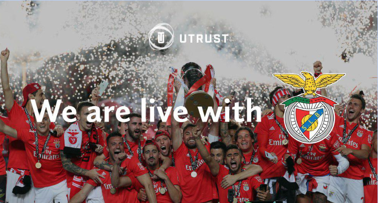 Benfica Football Club Partner with UTRUST to Become the First Top Club to Accept Cryptocurrency