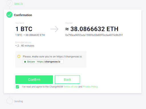 ChangeNOW Review: Instant Limitless Crypto Swap Service