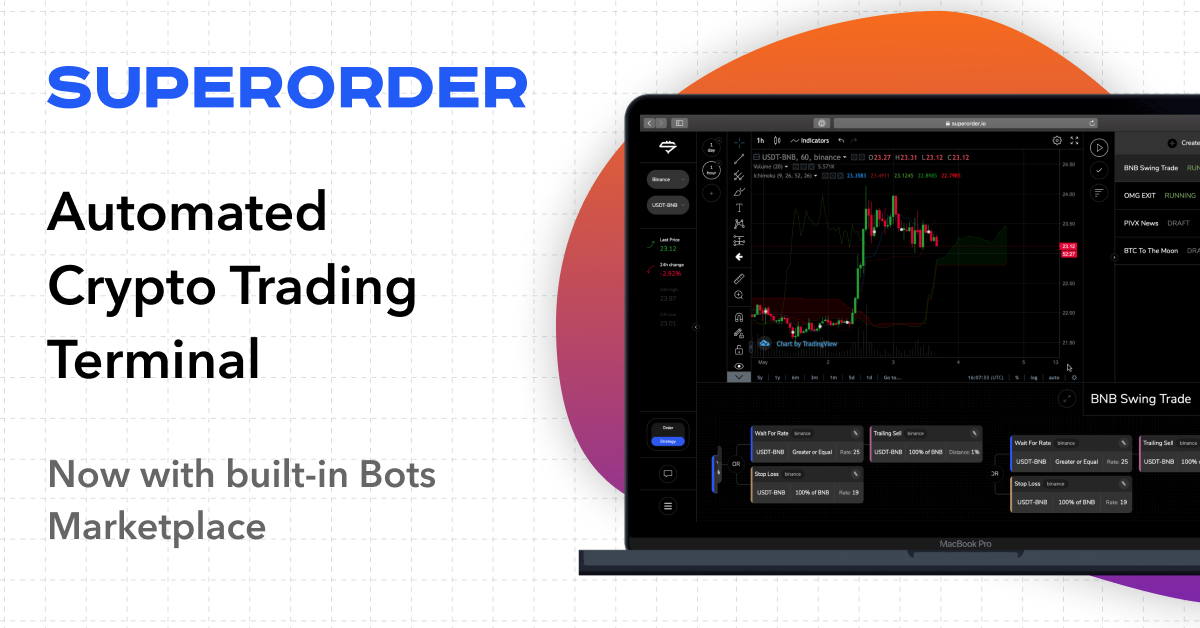 Superorder Introduces Crypto Trading Bots Marketplace