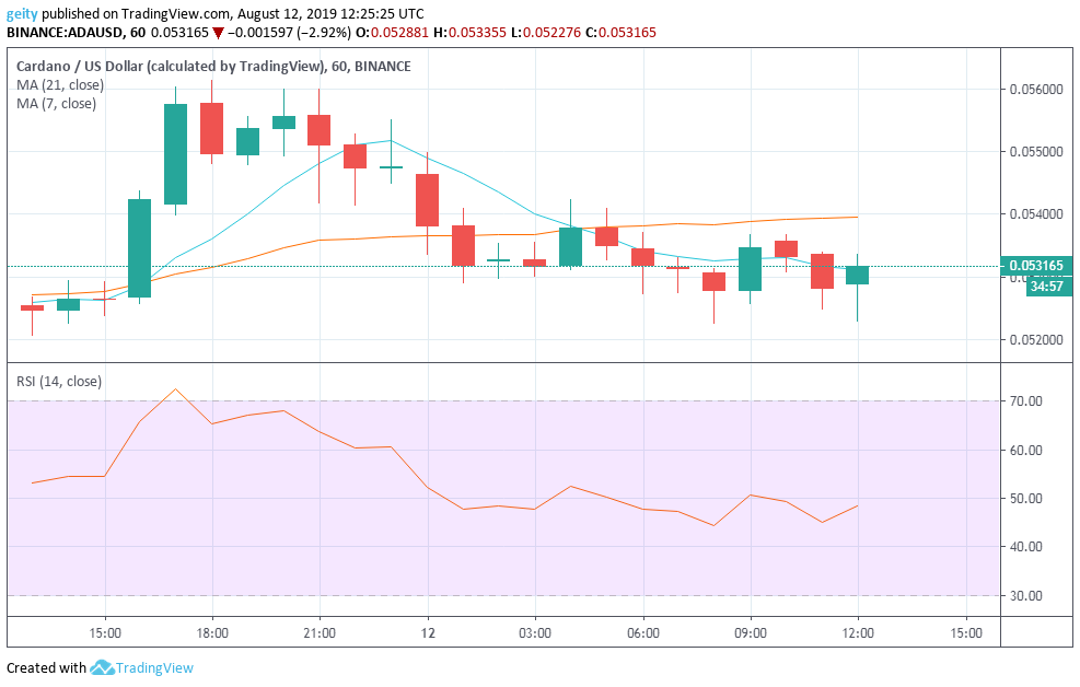 Daily Cryptocurrency Analysis and Forecast for 12 August: XLM, ADA, and XRP