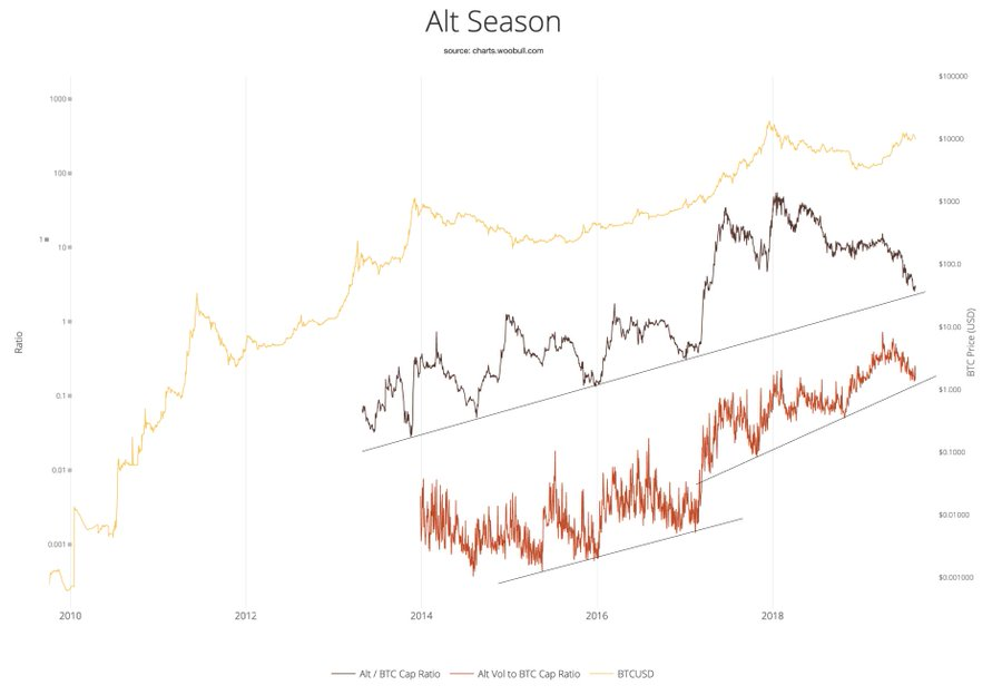 Despite BTC's Price Rollercoaster, This New Astounding Report Suggests Its Dominance Is Actually Above 90%
