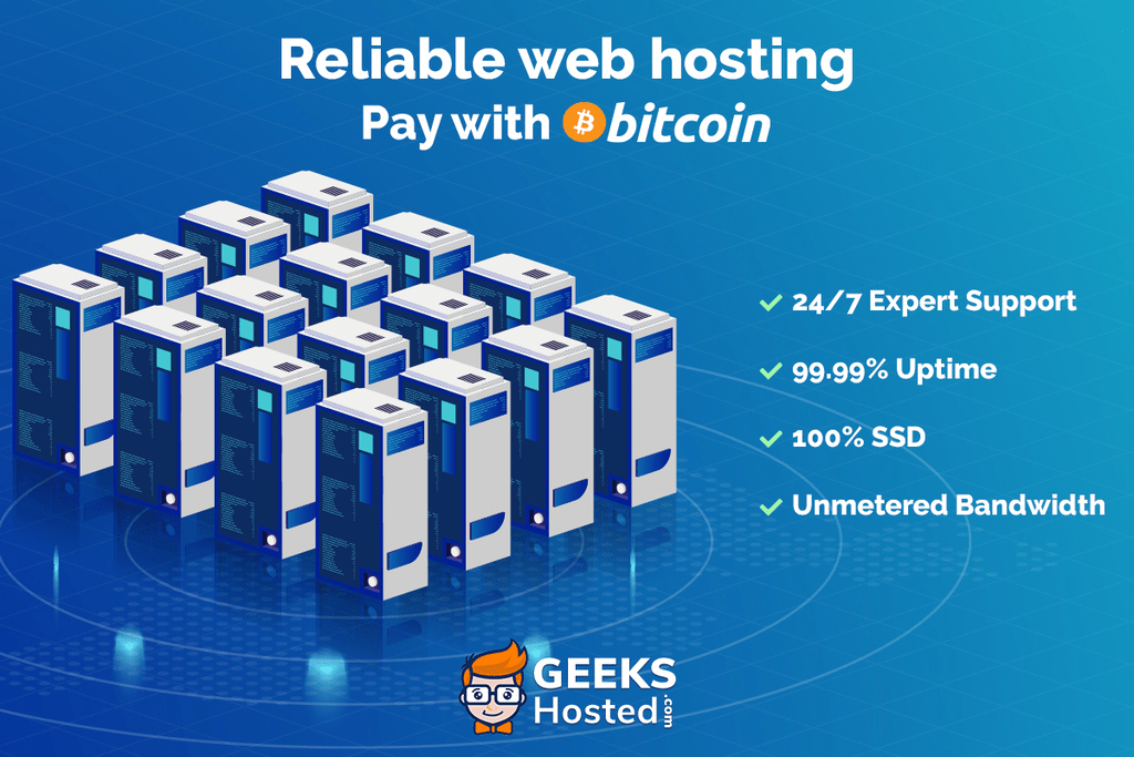 GeeksHosted Web Hosting Company Now Accepts Bitcoin