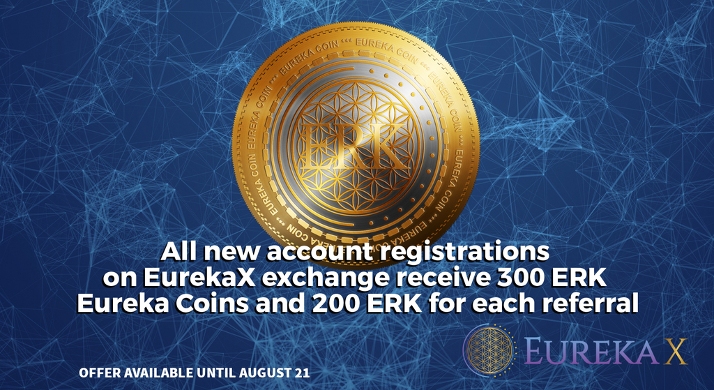 The Eureka Network Unveils its Revamped High-Liquidity Exchange with a Signup Bonus of 300 ERK Tokens