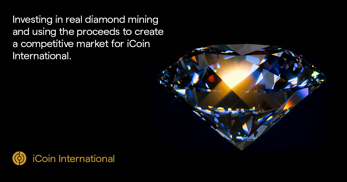 iCoin Blockchain-Based Diamond Mining Platform Launches Initial Exchange Offering (IEO)