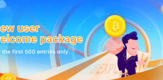 "Bexplus to Grant Each New User with ""Welcome Pack"""