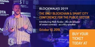 Blockwalks 2019 Blockchain Conference to Focus on Improving Governance and the Lives of Citizens with DLT