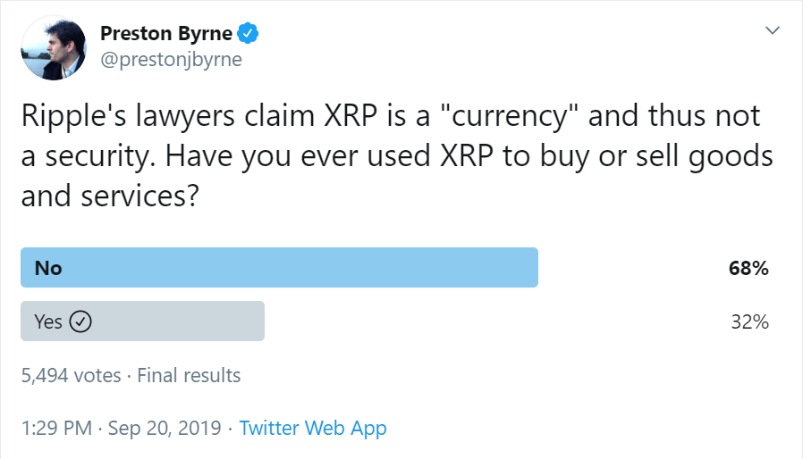 XRP Currency Or Security?