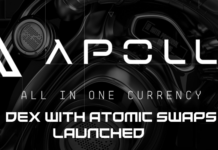 Cryptocurrency Apollo DEX Exchange Innovates with New Transactional Packages