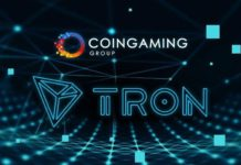 Blockchain Gaming Ecosystem, Coingaming Inks Partnership Deal with TRON