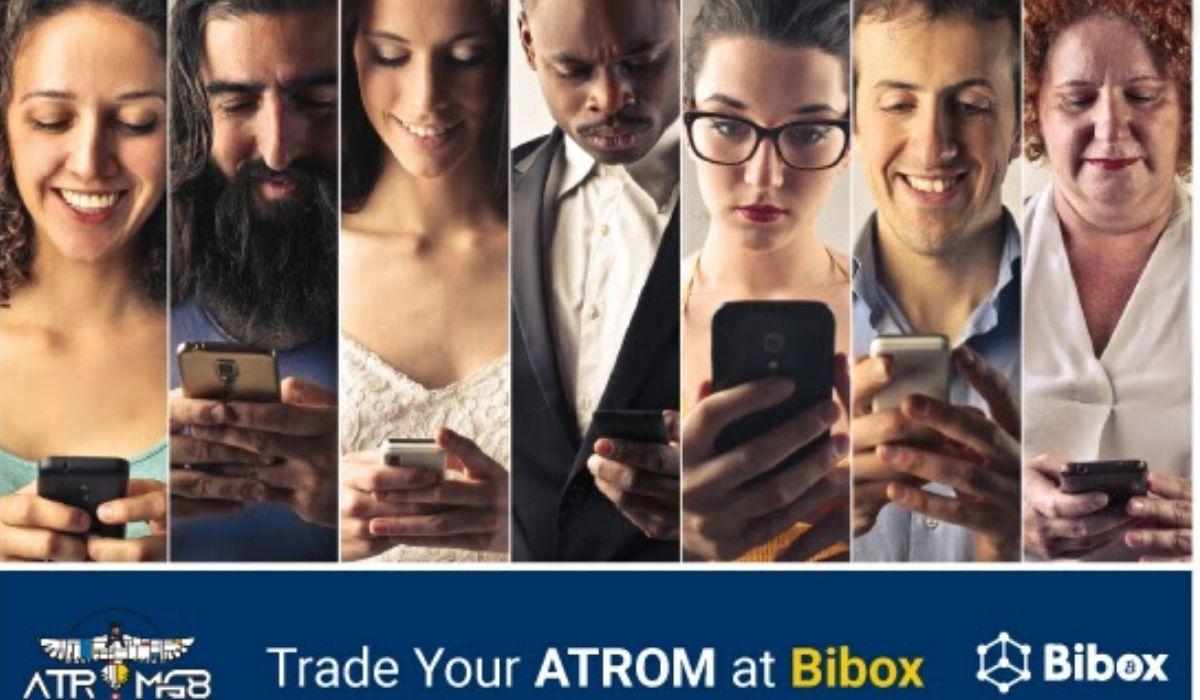 ATROMG8 Creates a Milestone by getting a Bibox Listing!