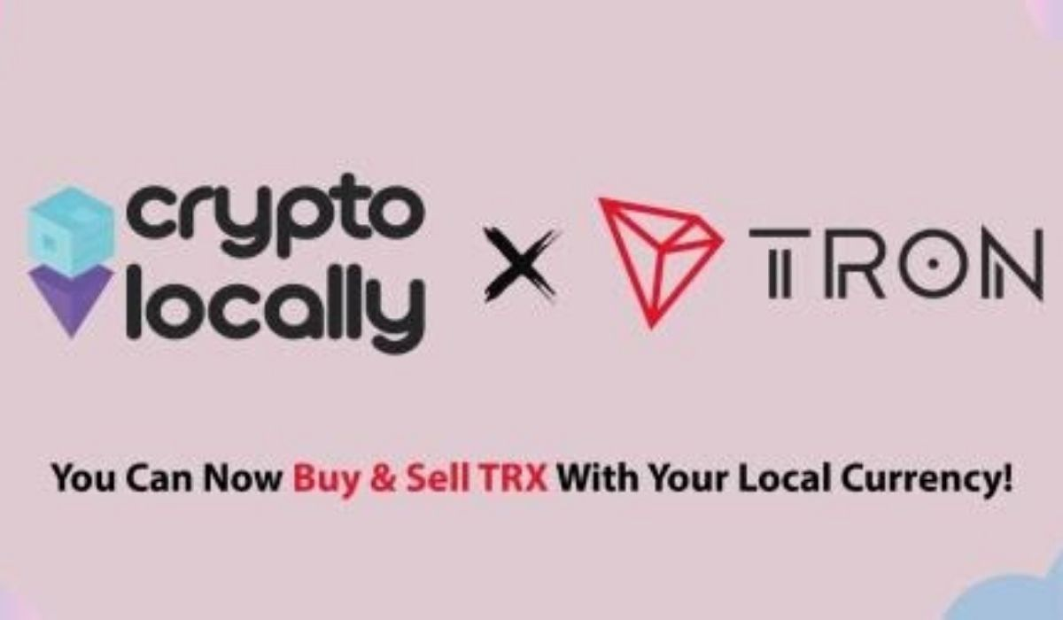 CryptoLocally Adds TRX, Giving TRON Users a Private Way to Cash Out