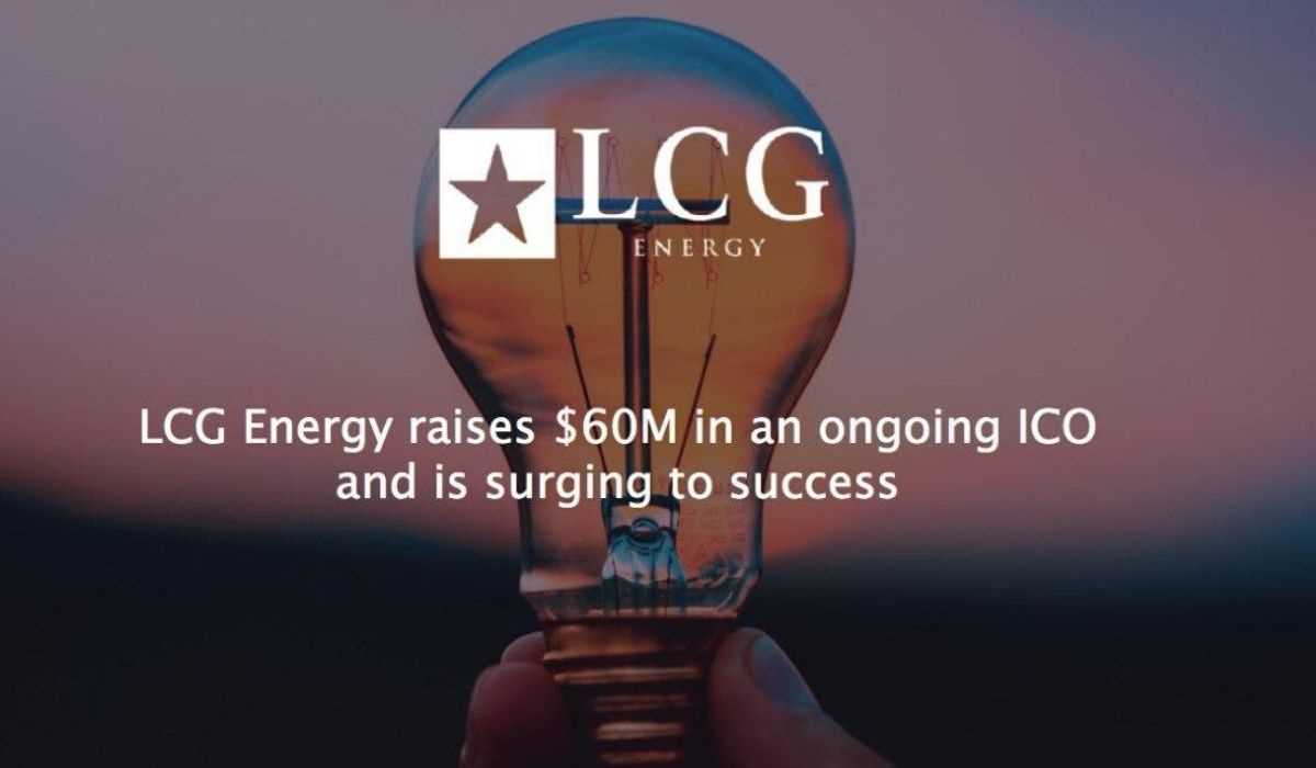 LCG Energy raises $60M in an ongoing ICO and is surging to success