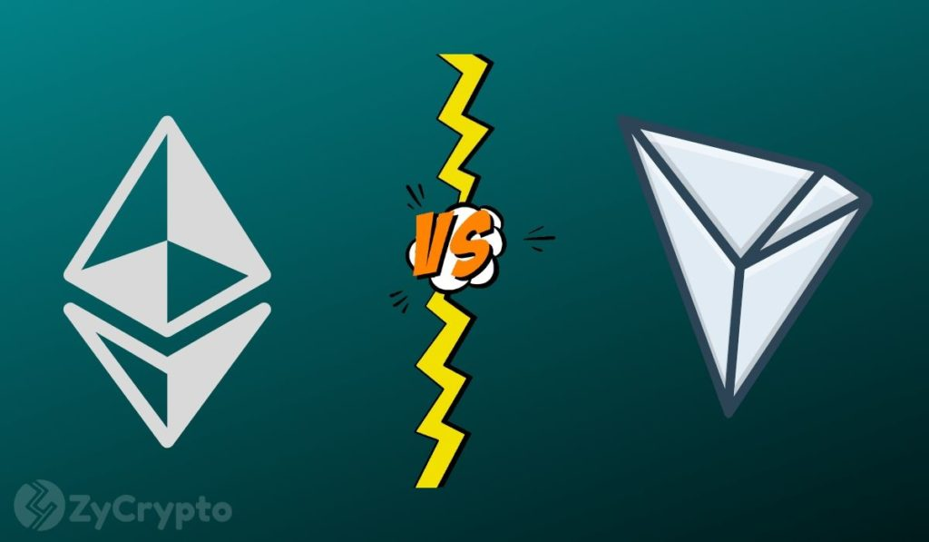 Survey: 60% Of Crypto Twitter Thinks Tron 4.0 Is Superior To Ethereum 2.0