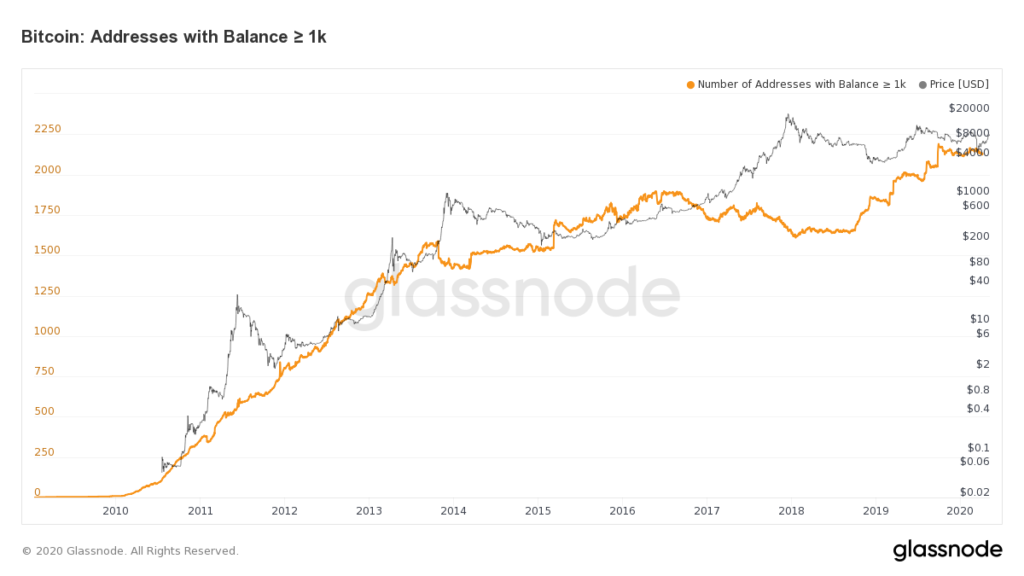 Why Bitcoin Whales Have Been Solidly Accumulating Since January