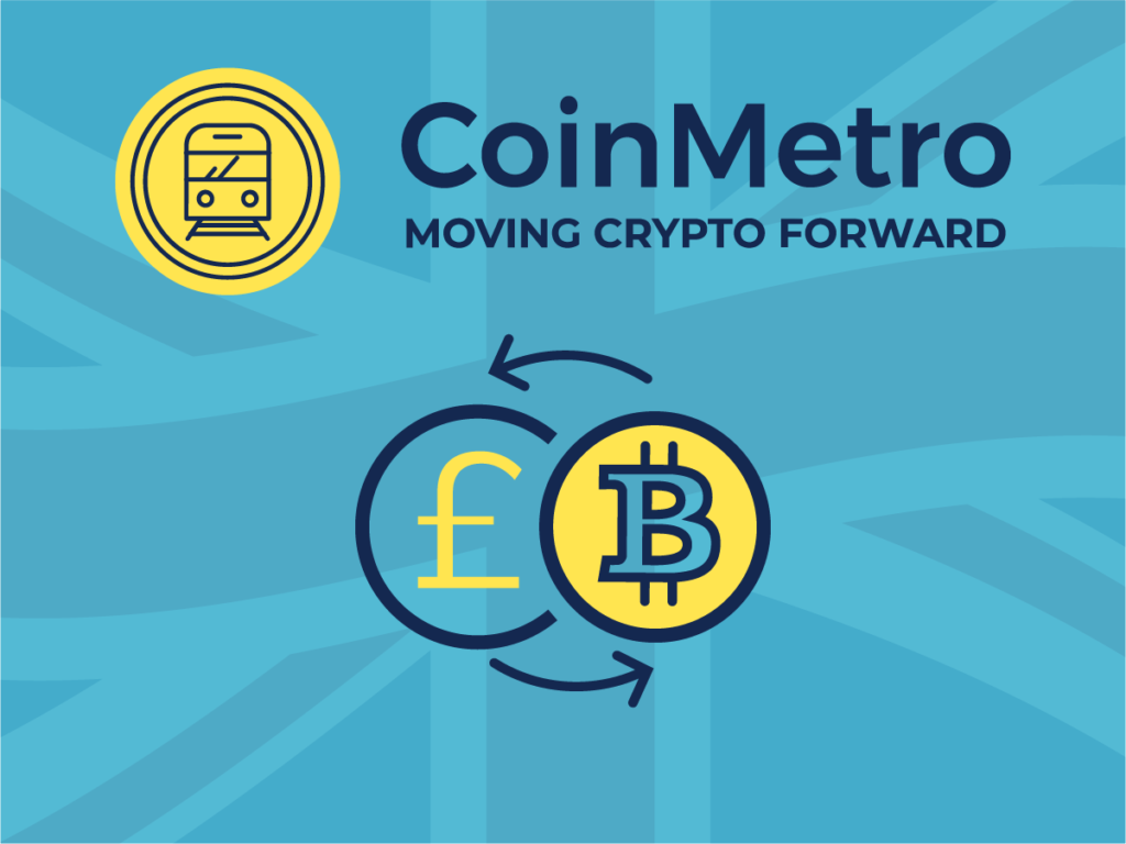BTC to GBP Trading is Live on CoinMetro