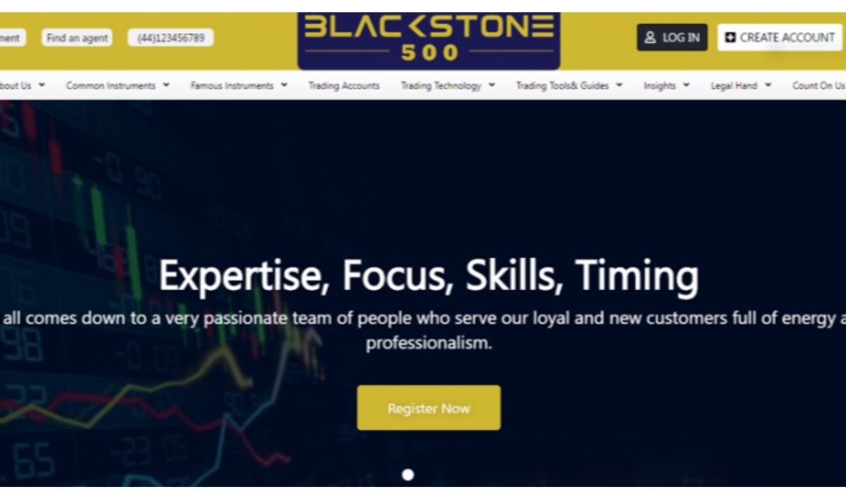 Blackstone500 – A Reputable Broker For Crypto CFD Trading