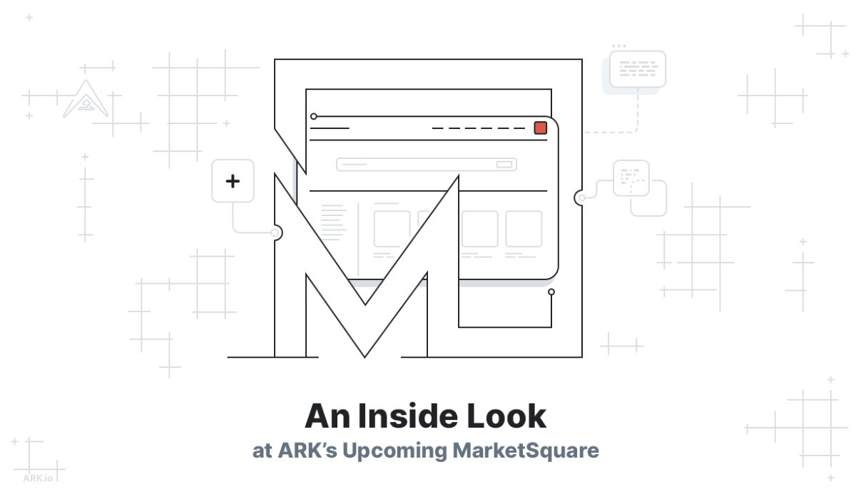 Blockchain Platform ARK Launches MarketSpace: a New Homepage for Decentralized Web