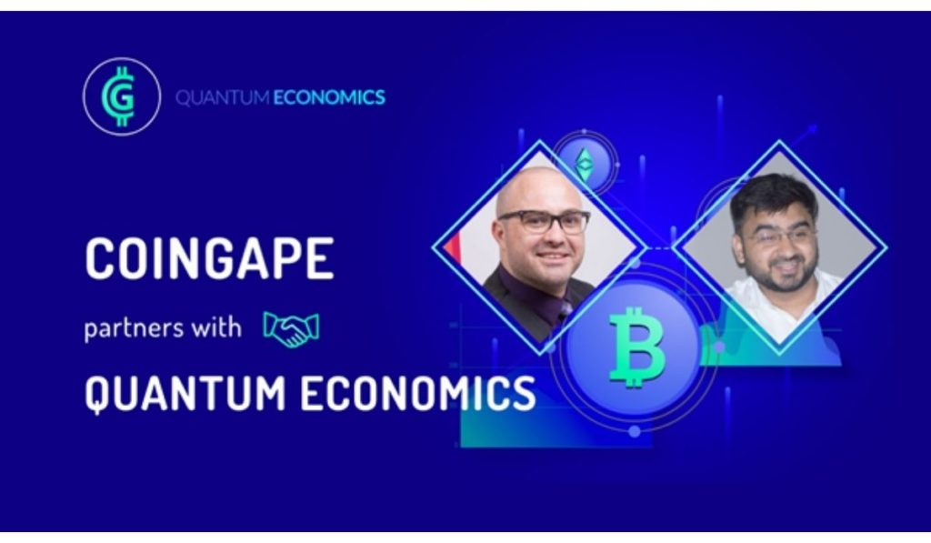 Mati Greenspan's Quantum Economics has partnered with major Indian crypto media group CoinGape
