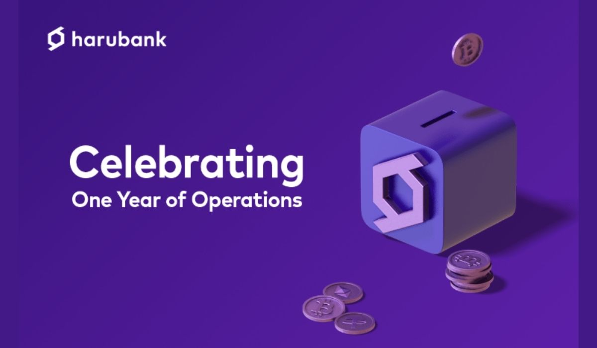 HaruBank One Year Anniversary Depicts Tremendous Growth