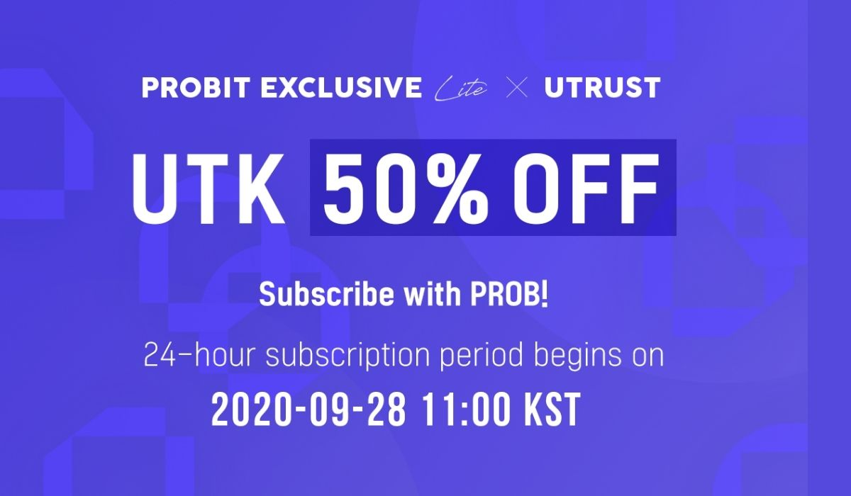 Digital Payment Solution Utrust to Hold Exclusive Listing Sale on ProBit Exchange