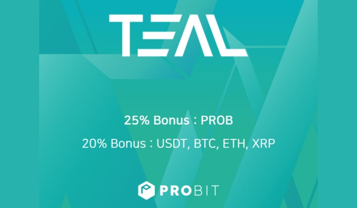 ProBit Exchange Reloads Launchpad IEO for Smart Blockchain Ecosystem TEAL Marketplace