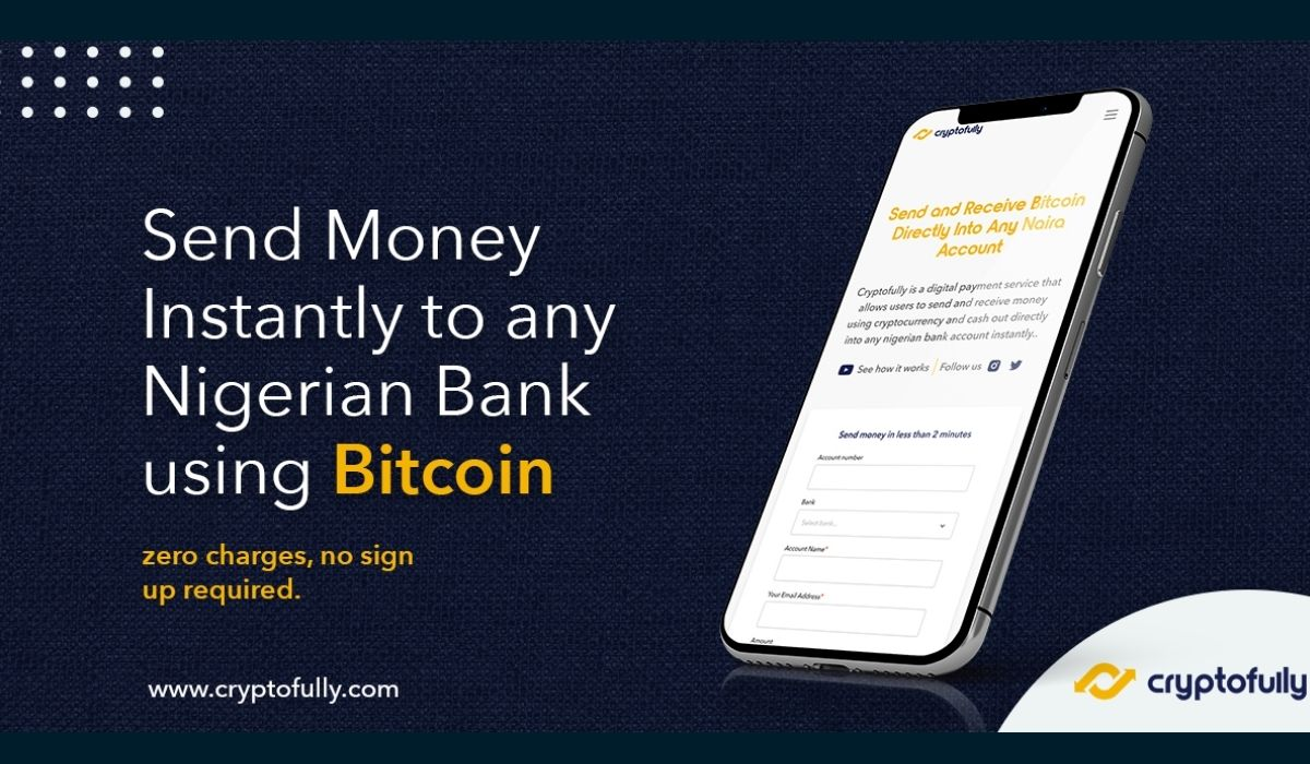 Transfer Money in Nigeria Instantly with Cryptocurrencies using Cryptofully.com