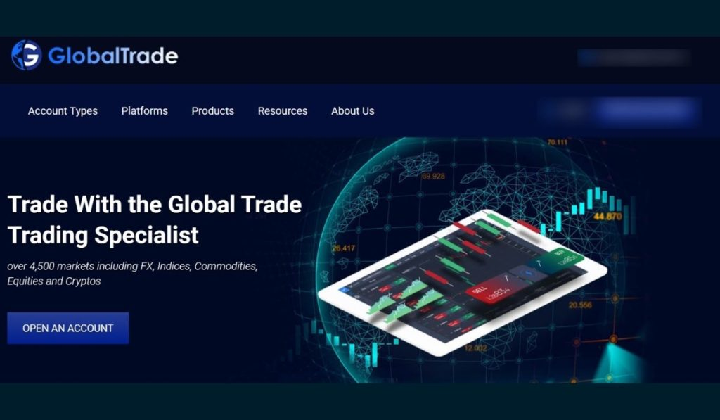 Global Trade, your safe and reliable partner for successful trading