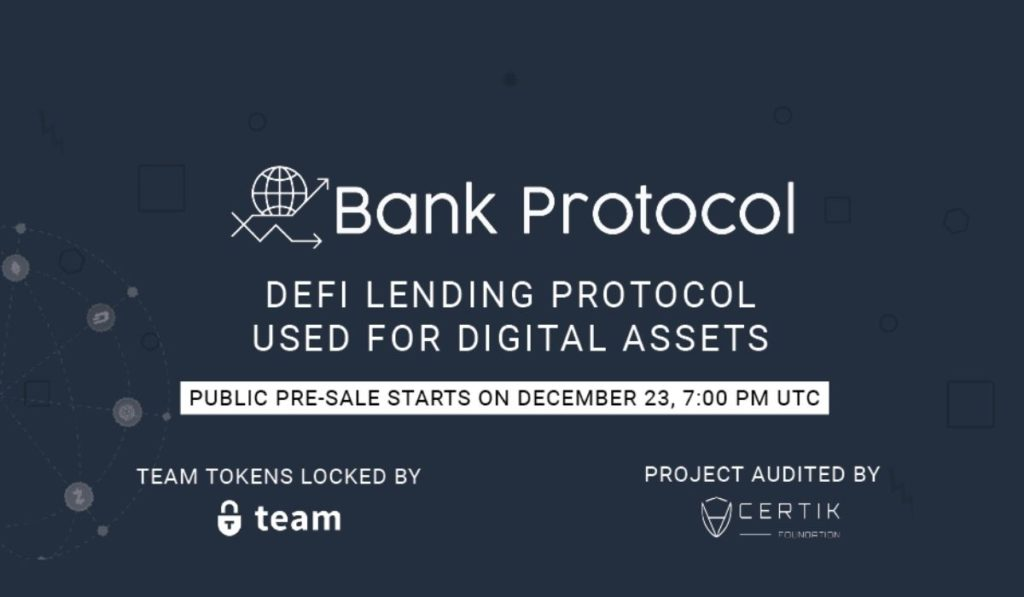 Bank Protocol: All in One DeFi Lending Protocol for Digital Assets