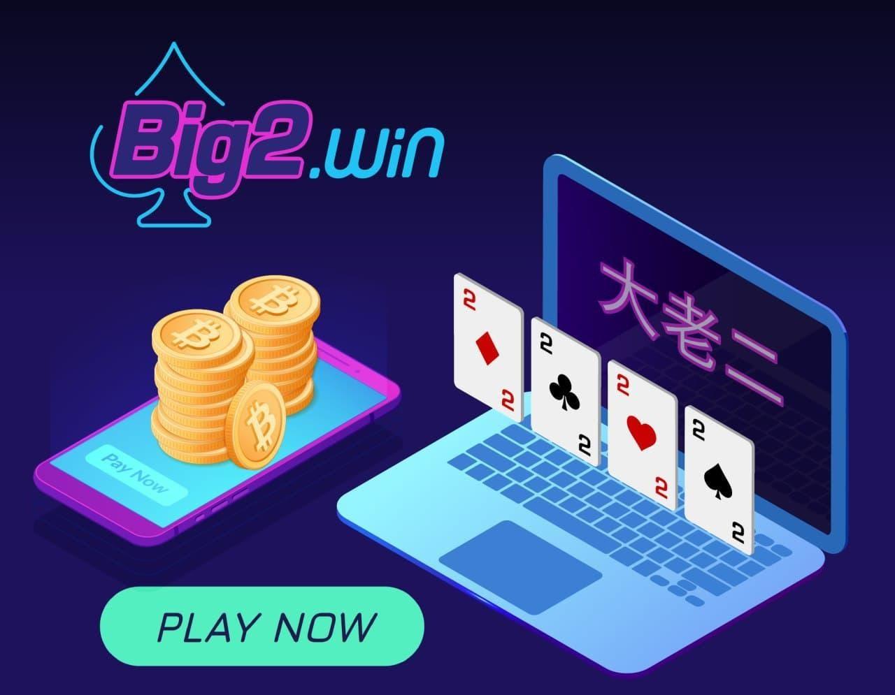 BIG2.WIN Makes Waves on Peer-to-Peer Crypto Gaming Market via Entertaining Game