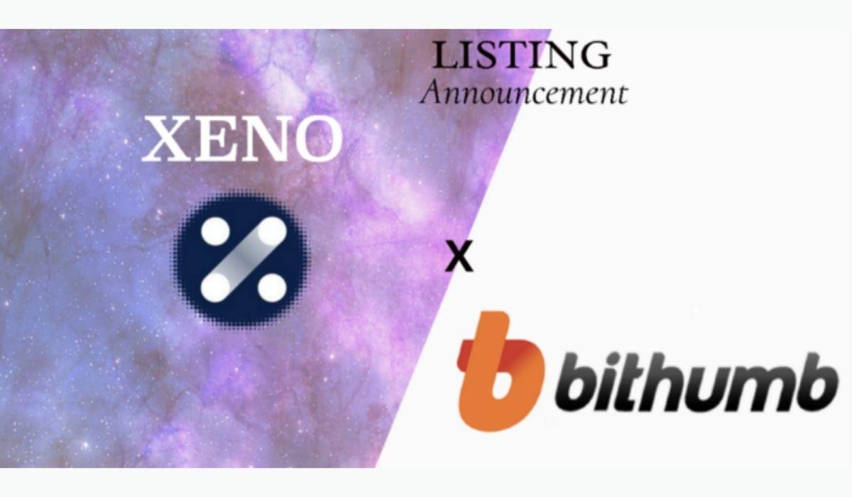 XNO Token of Xeno NFT Hub listed on Bithumb Korea Exchange