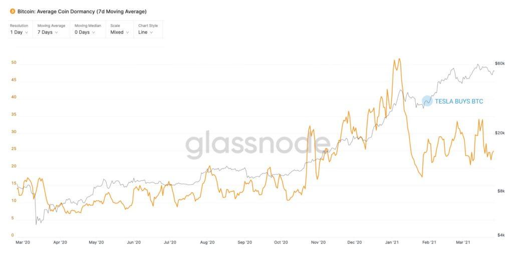 Bitcoin hodlers elon musk effect