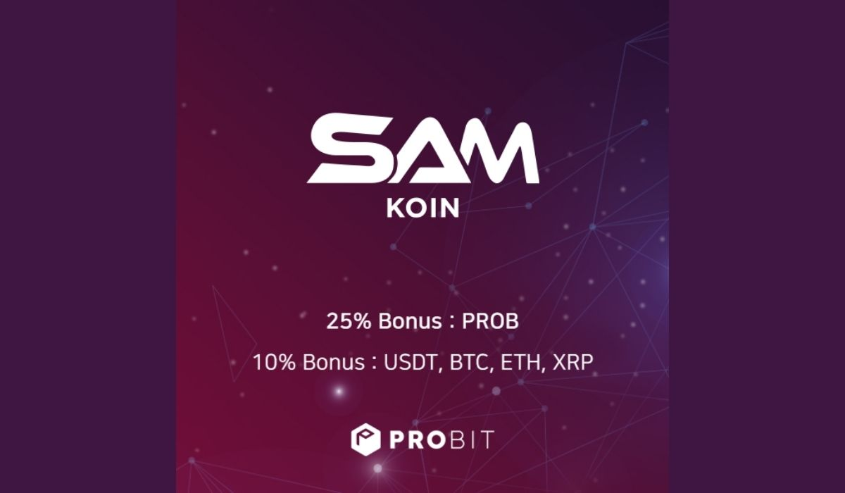 ProBit Exchange Launching SAMKoin (SAMK) IEO | Revolutionizing Cryptocurrency Payment Solutions