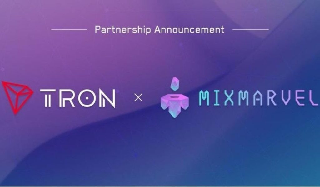 TRON and MixMarvel Join Forces to Launch NFTs