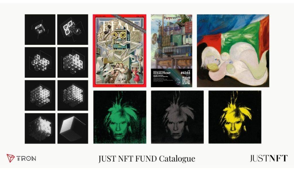JUST NFT FUND Catalogue