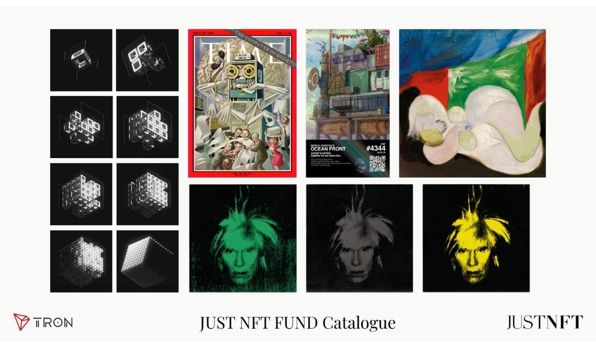 """JUST NFT fund Unveils NFT for """"The First Collections"""" Including Picasso's Works"""