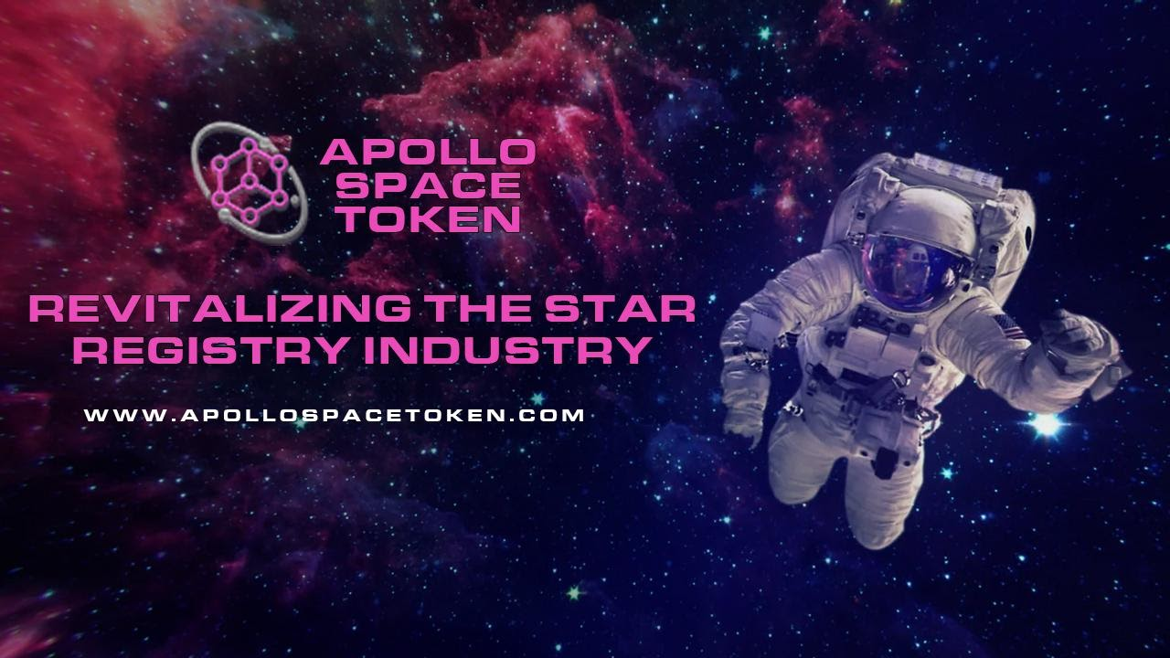 Apollo Space Token's Decentralized Star Naming Registry Marks Huge Success in Just a Week of Launch