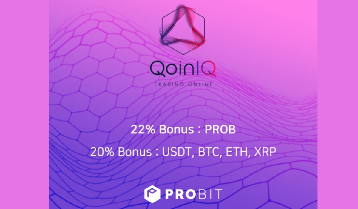 Developed by Traders for Traders, QoinIQ Platform Opens IEO on ProBit Exchange
