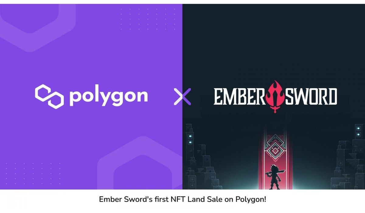 MMORPG Game Ember Sword successfully Completes Its First Land Sale On Polygon