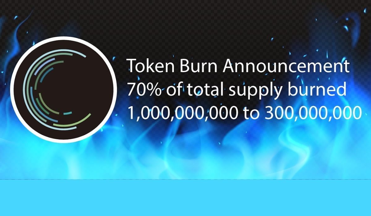 The Whole Earth Foundation Burns 70% of the total token supply