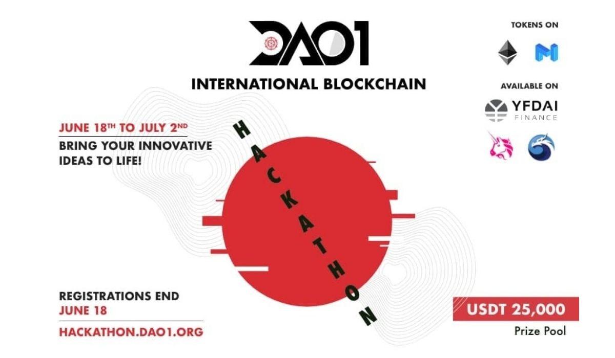 DAO1 Announces Its Very First International Blockchain Hackathon