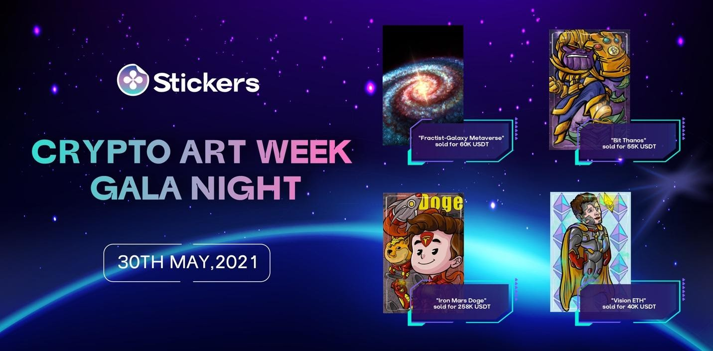 Metaverse-backed Stickers Platform Facilitated A $258k NFT Auction