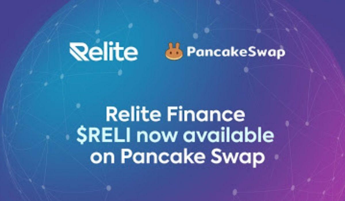 Relite Finance Governance Token RELI Now Available On PancakeSwap