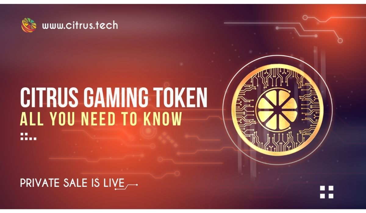 All You Need To Know About The Citrus Gaming Token