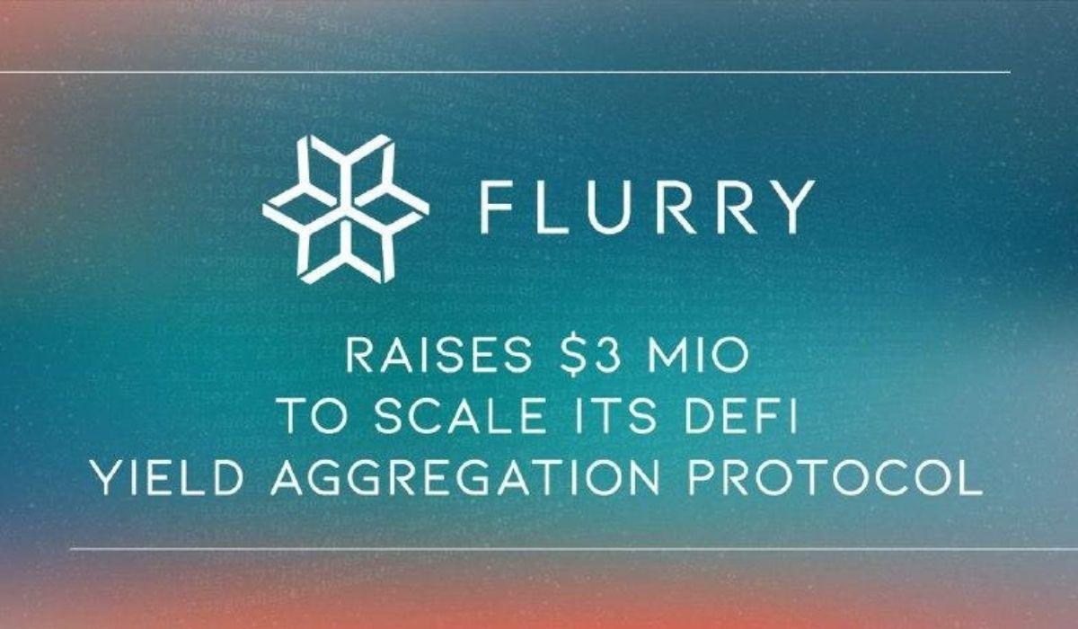 FLURRY Finance Raises $3 Million In Latest Investment Round